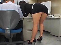 Japanese office cutie acquires screwed by 2
