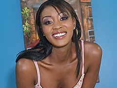 From head to toe, this ebony chick has it all. Rayne widens her...