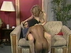 Love it... enjoy it, because this one hell of interracial threesome...