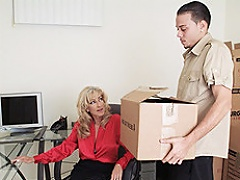 A twenty year old school stud receives called in by his boss to carry heavy...