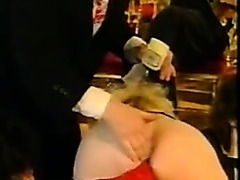 Vintage french sexy lesbo fistings