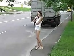 Russian Prostitute Banged By The Police Functionary