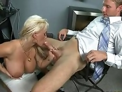 Scoprching Sexy Momma Holly Halston Enjoys Engulfing A Accidental Mans Longing Meatpole