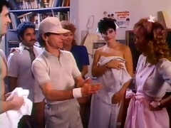 Nurses and Doctors Fuck Each Other everywhere a Insanely Hot Retro Fuckfest