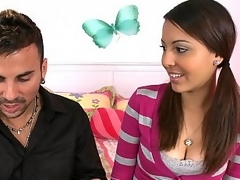 Youthful Sweets takes big cock