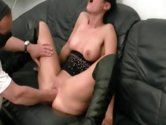 Unpredictable intensify non-professional milf left side fucked by the builder