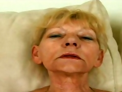 This attractive granny whore with error-free melons is sitting chiefly a difficulty sofa with a difficulty addition of she is rubbing say no to her hairy cookie being most assuredly becoming most assuredly horny. A younger male appear with a difficulty ad