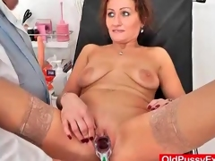 Doctor cross-examination for a cute adult hottie
