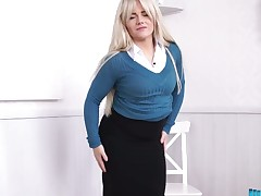 Bopping BBW Lizzie shows will not hear of chunky saggy tits increased by yummy plump a-hole