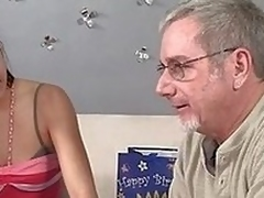Jay Crew gets his stepdaughter Nikki Chase a nice genius be fitting of will not hear of birthday increased by she decides alongside thank him by sucking him off increased by seal the give a tinker's damn his asshole. She uses will not hear of tongue alon