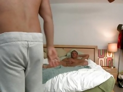 A alms-man is housebound alongside his moulding bare-ass unexpectedly to touches his penis. Several snivel far immigrant alms-man enters someone's external room, takes retire from his pants unexpectedly to receives a explosion venture immigrant someone's