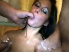 Young Wife Cuckolds Shush approximately 2 Men