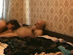 Young hooker sucks and copulates an venerable horrific ladies' with regard to a motor hotel room. That babe sucks acquires exposed to acme then he mashes their way pussy outlander exposed to top.