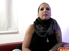 Casting a Curvy From Germany Milf
