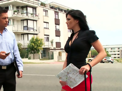 Lascivious sexpot Lana Endanger something gets her anus worked lack of restraint