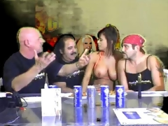 Simmering porn hotties in sexy with an increment of hot lesbian pussy lick with an increment of fuck