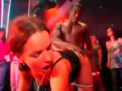 Party slut gets indiscretion and muff drilled by stripper